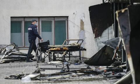 Σκόπια: Τραγωδία δίχως τέλος - Στους 14 οι νεκροί από την πυρκαγιά σε μονάδα covid