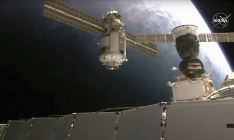 Καπνός και μυρωδιά καμένου στο ρωσικό τμήμα του Διεθνούς Διαστημικού Σταθμού