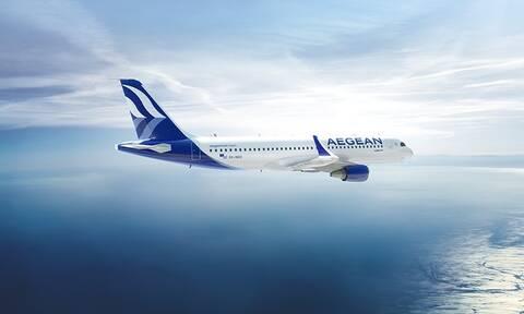 H Aegean Airlines μετέφερε περισσότερους από 2,3 εκατ. επιβάτες τον Ιούλιο και τον Αύγουστο