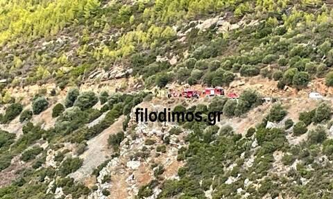 Τραγωδία στο Αίγιο: Αυτοκίνητο έπεσε στο γκρεμό - Ένας νεκρός
