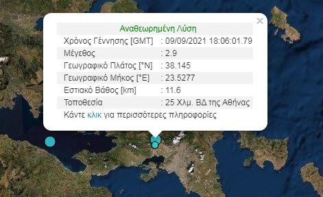 Seismos athina tora