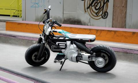 BMW Concept CE 02: Το ηλεκτρικό μηχανάκι μιας νέας γενιάς