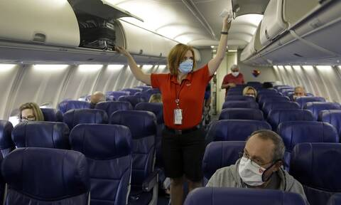 ΗΠΑ: Στα ύψη τα πρόστιμα για τους ταξιδιώτες που δεν φοράνε μάσκες - μέχρι και 3.000 δολάρια