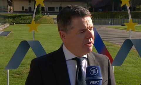 Ο πρόεδρος του Eurogroup, Πασκάλ Ντόναχιου