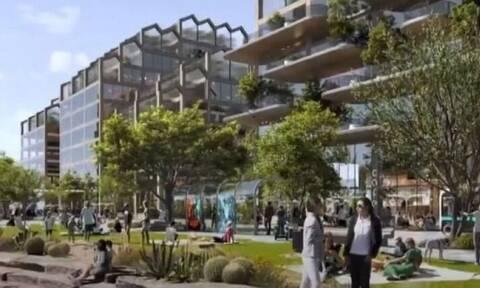 Η πόλη του μέλλοντος: Δισεκατομμυριούχος δημιουργεί βιώσιμη πόλη 400 δισ. στην έρημο (pics & vid)