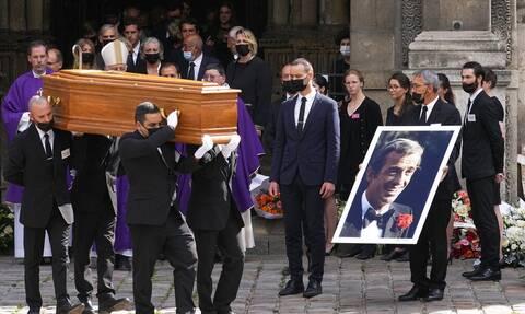 Γαλλία: Τελέστηκε η κηδεία του Ζαν-Πολ Μπελμοντό