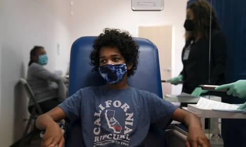 ΗΠΑ εμβόλιο pfizer παιδιά