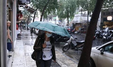 Καιρός Σάββατο βροχές
