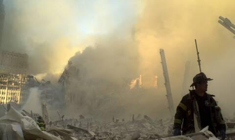 Συγκλονιστικό στιγμιότυπο απο την 11η Σεπτεμβρίου