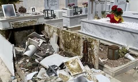 Κατέστρεψαν τάφο 20χρονης στην κηδεία του Mad Clip – Τι έγινε με τον σταυρό και το κινητό του (vid)