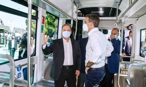 ΔΕΘ 2021 – Μητσοτάκης: Το Μετρό της Θεσσαλονίκης θα είναι έτοιμο στα τέλη του 2023