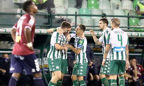 Super League: Εντυπωσίασε ο Παναθηναϊκός, «σούπα» στο Αγρίνιο – Όλα τα γκολ (videos)