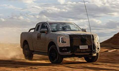 Δείτε τις πρώτες εικόνες με το νέο Ford Ranger εν δράσει