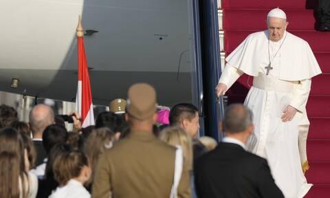 Η Ουγγαρία υποδέχεται τον Πάπα - Η συνάντηση με τον Όρμπαν και η «Μεγάλη Γιορτή του Χριστιανισμού»