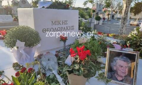 Πραγματοποιήθηκε το εννιάμερο μνημόσυνο του Μίκη Θεοδωράκη στα Χανιά (pics)