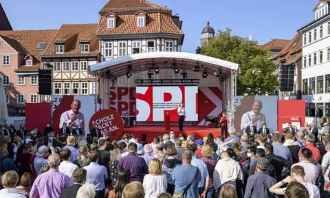 Συγκέντρωση των Σοσιαλδημοκρατών