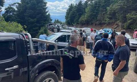 Ράλι Ακρόπολις 2021: Χιλιάδες θεατές εγκλωβίστηκαν στα βουνά της Φθιώτιδας (video)