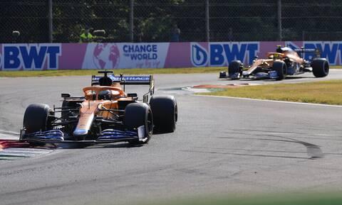 Formula 1: Κυριαρχία της McLaren στη Μόντσα! Πρώτο 1-2 μετά από 11 χρόνια (video+photos)