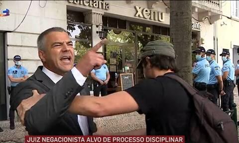 Πορτογαλία: Δικαστής ενάντια σε κυβέρνηση, αστυνομία για τη στάση τους κατά πολιτών λόγω... Covid 19