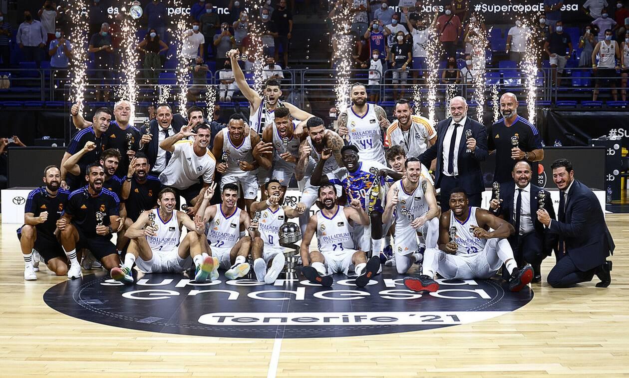 Στη Ρεάλ Μαδρίτης ο πρώτος τίτλος! – Νίκησε από το -17 την Μπαρτσελόνα  (videos) - Newsbomb - Ειδησεις - News