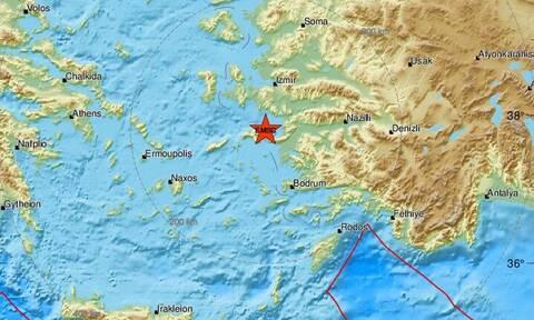 Σεισμός στη Σάμο - Αισθητός στο νησί (pics)