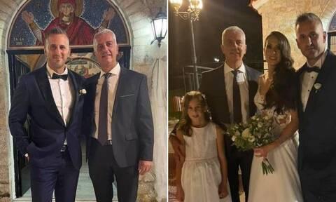 Γλυκά Νερά: Παντρεύτηκε ο αστυνομικός που συγκίνησε όταν πήρε στην αγκαλιά του το μωρό της Καρολάιν