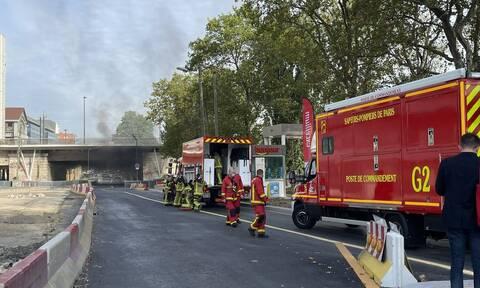Γαλλία: Φωτιά κοντά στη γέφυρα Pont National στο Παρίσι