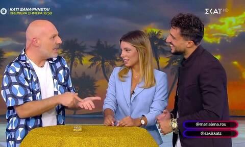 Σάκης και Μαριαλένα στον Νίκο Μουτσινά: «Είμαστε μαζί συνέχεια, έχουμε πάθει εξάρτηση»