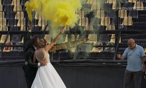 Super League: Σήμερα γάμος γίνεται… στο Άρης – ΟΦΗ! Το πανηγύρισαν με καπνογόνα οι νεόνυμφοι (vids)