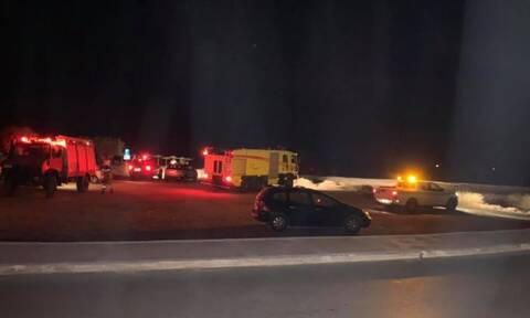 Πτώση αεροσκάφους Τσέσνα στη Σάμο: Έρευνες για τον εντοπισμό των επιβατών - Οι πρώτες εικόνες