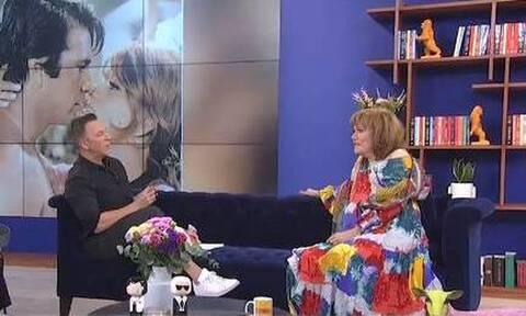 Μαίρη Χρονοπούλου: Η σπάνια τηλεοπτική της εμφάνιση - Οι άνδρες της ζωής της και ο Κούρκουλος