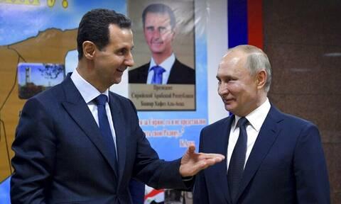 Συνάντηση Πούτιν - Άσαντ: Τι συζήτησαν για τη Συρία