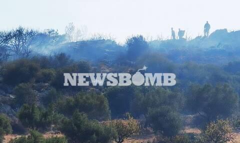 Φωτιά Κερατέα - Δήμαρχος Λαυρεωτικής στο Newsbomb.gr: Ελεγχόμενη η κατάσταση, δεν απειλούνται σπίτια