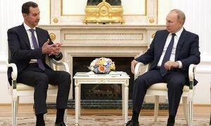 Путин провел в Кремле встречу с Асадом