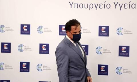 Γεωργιάδης: Καμία διόρθωση στο ΦΕΚ για τους ανήλικους 12-17 - Είσοδος στην εστίαση με rapid test