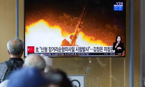Παγκόσμιος συναγερμός: Η Βόρεια Κορέα προχώρησε σε εκτόξευση δυο βαλλιστικών πυραύλων
