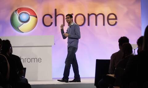 Παρουσίαση της Google Chrome