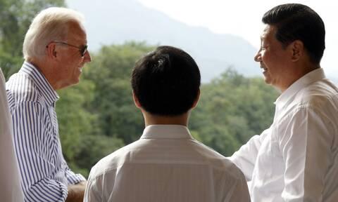 O Mπάιντεν και ο Σι Τζινπίνγκ