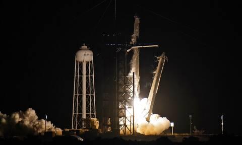 ΗΠΑ: Απογειώθηκε ο πύραυλος Falcon 9 της SpaceX - Στέλνει ερασιτέχνες αστροναύτες στο διάστημα