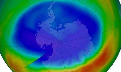 Κλιματική αλλαγή: Η τρύπα του όζοντος στον Νότιο Πόλο έγινε μεγαλύτερη από την Ανταρκτική
