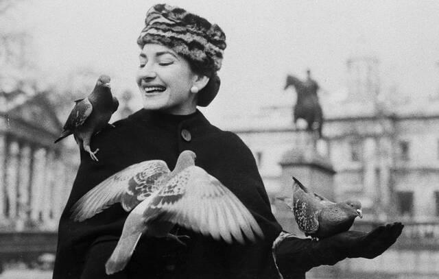 Μαρία Κάλλας, 1957