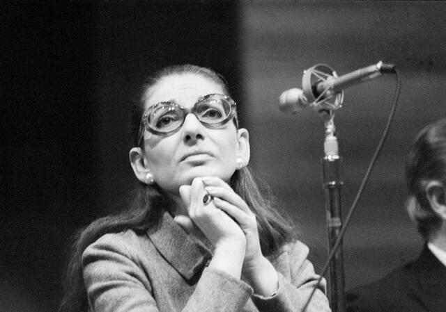Μαρία Κάλλας, 1972