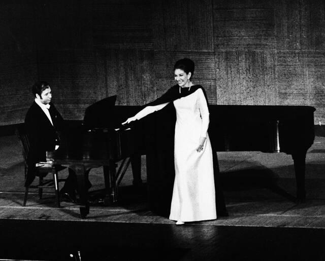 Μαρία Κάλλας, 1974