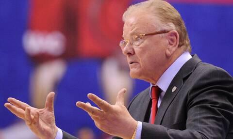 Умер бывший тренер греческих баскетбольных команд АЕК и Олимпиакос Душан Ивкович