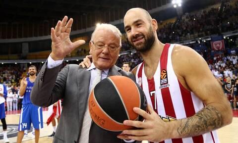Ντούσαν Ίβκοβιτς: Συντετριμμένος ο Σπανούλης - «Ήσουν το ίδιο το μπάσκετ» (pics)