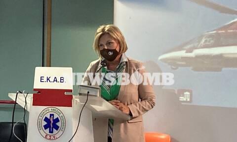 Μίνα Γκάγκα στο Newsbomb.gr: Αισιόδοξη για την ανταπόκριση στην τρίτη δόση του εμβολίου