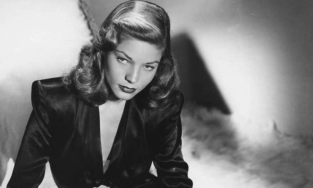 H Lauren Bacall έζησε πιο έντονα από κάθε άλλη γυναίκα!