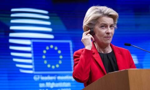 Επαφές με τους πρωθυπουργούς της Κροατίας, της Ισπανίας και της Ιταλίας θα έχει η  Φον Ντερ Λάιεν