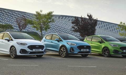 H Ford ανανέωσε και αναβάθμισε το Fiesta