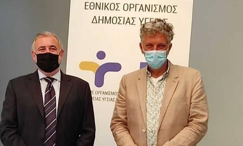 Η φυματίωση στο επίκεντρο συνάντησης στον ΕΟΔΥ